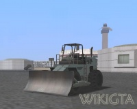 Dozer in GTA San Andreas