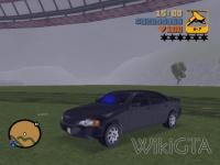 FBI Car in GTA III
