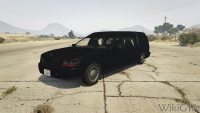 Romero Hearse in GTA V