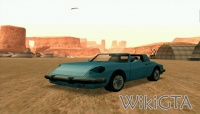 Comet in GTA San Andreas