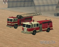 Fire Truck in GTA San Andreas
