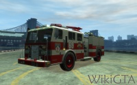 Fire Truck in GTA IV