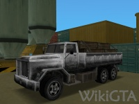 Flatbed in GTA Vice City