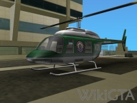 Police Maverick in GTA Vice City