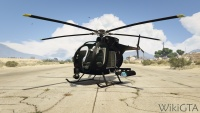 Buzzard in GTA V