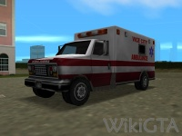 Ambulance in GTA Vice City