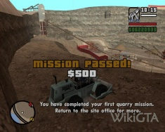 Quarry - WikiGTA - The Complete Grand Theft Auto Walkthrough
