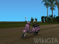 Faggio in GTA Vice City