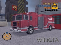 Fire Truck in GTA III