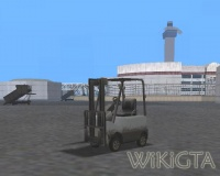 Forklift in GTA San Andreas