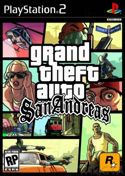 Boxcover of GTA San Andreas