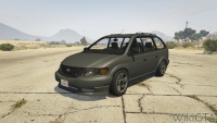 Minivan in GTA V