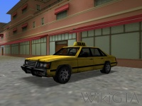Taxi in GTA Vice City
