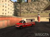 Ambulance in GTA San Andreas