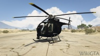 Buzzard Attack Chopper in GTA V