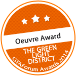 The Green Light District - Oeuvre Award 2014