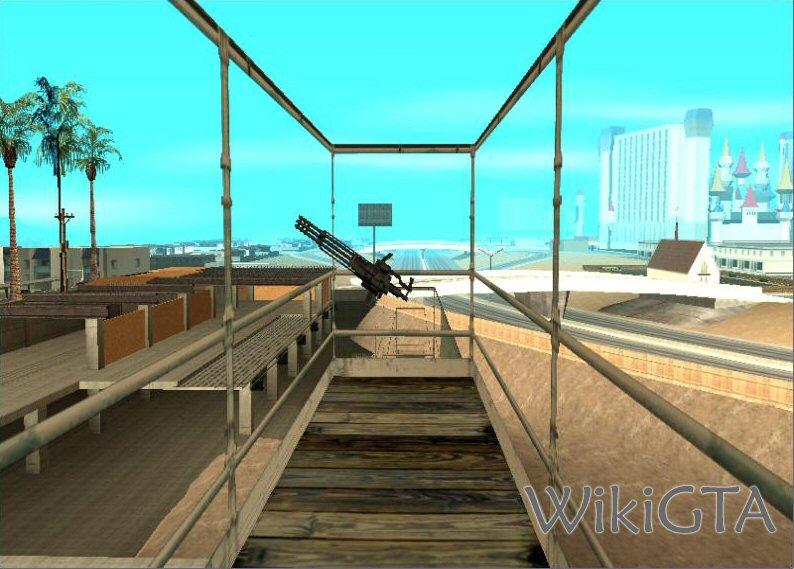 Donde Encontrar La La M 134 Vulcan Minigun En Gta San Andreas 1ª Parte Gta San Andreas