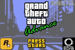 Bestand:GTA Advance Start Screen.jpg