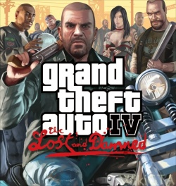 Boxart van GTA IV: The Lost and Damned