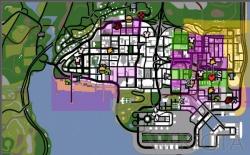 Gangterritorium Gta San Andreas Wikigta De
