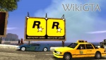 Rockstar Games billboards