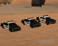 Police in GTA San Andreas