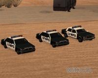 Police in GTA San Andreas