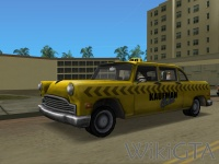 Kaufman Cab in GTA Vice City