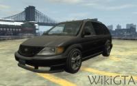 Minivan in GTA IV