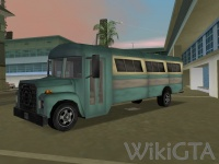 Bus in GTA Vice City