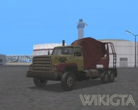 Cement Truck in GTA San Andreas