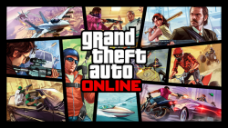 Release poster of Grand Theft Auto: Online
