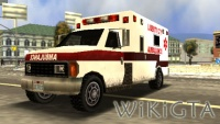 Ambulance in GTA Liberty City Stories