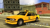 Taxi in GTA Liberty City Stories