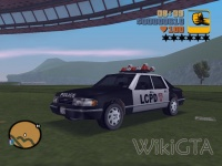 Police in GTA III