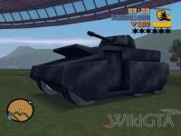 Rhino in GTA III