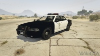 Police Cruiser in GTA V