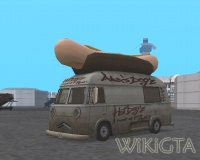 Hotdog in GTA San Andreas