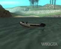 Dinghy in GTA San Andreas