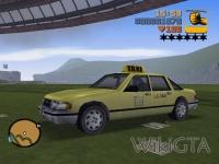 Taxi in GTA III