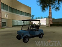 Caddy in GTA Vice City