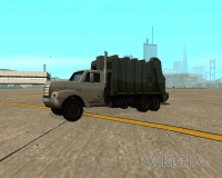 Trashmaster in GTA San Andreas