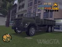 Flatbed in GTA III