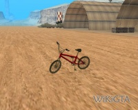 BMX in GTA San Andreas
