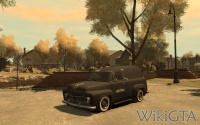 Slamvan in GTA IV The Lost and Damned