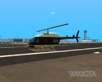 Police Maverick in GTA San Andreas