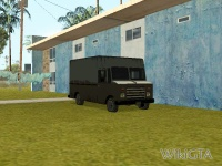 Boxville in GTA San Andreas