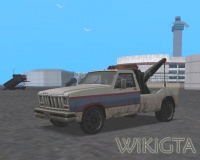 Towtruck in GTA San Andreas