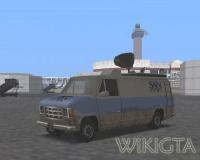 Newsvan in GTA San Andreas