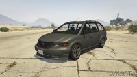 Minivan in GTA V